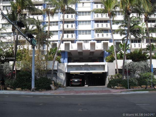 For Sale 800   West Ave #340 Miami Beach  FL 33139 - South Bay Club Condo
