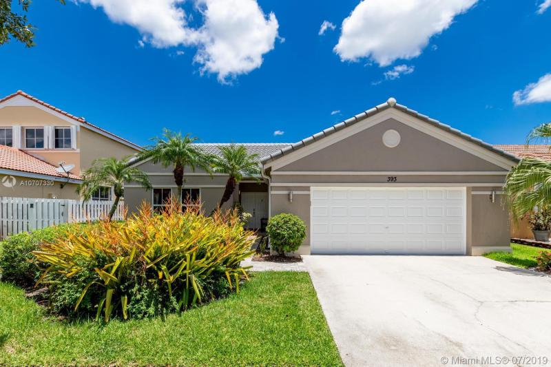 393  Carrington Dr,  Weston, FL