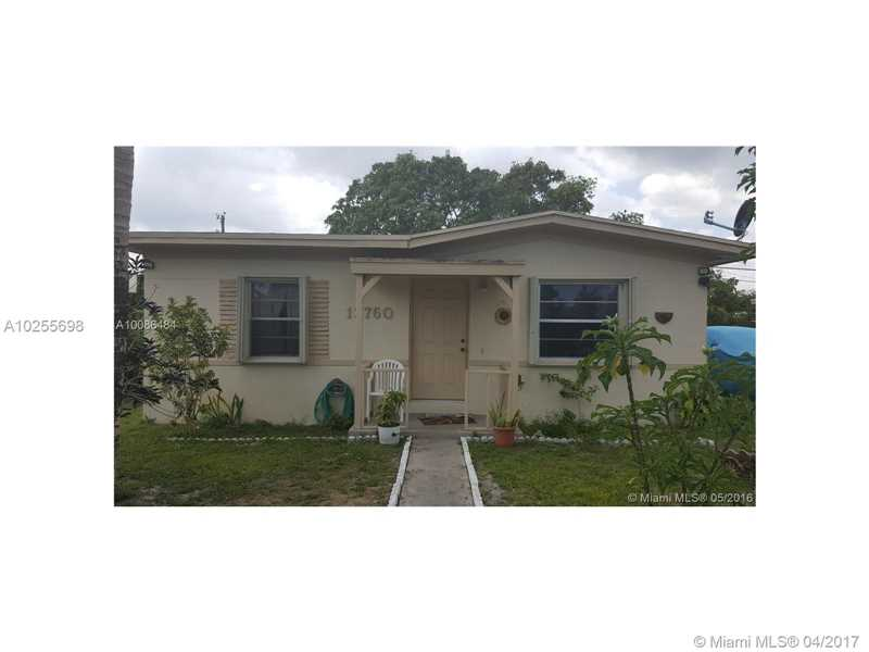 For Sale at  13760 NW 5Th Ave North Miami  FL 33168 - Nichols Heights - 2 bedroom 1 bath A10255698_2