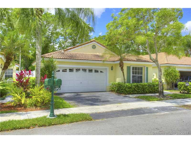 622  Turtle Run , Weston, FL 33326-1062