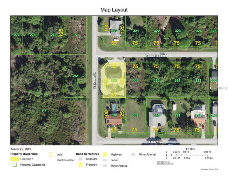 3405 HOMESTEAD, ROTONDA WEST, FL, 33947