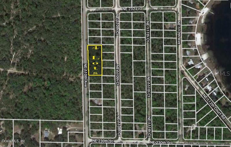 TBD NE 110th, FORT MCCOY, FL, 32134