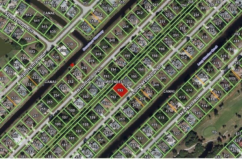 57 LONG MEADOW, ROTONDA WEST, FL, 33947