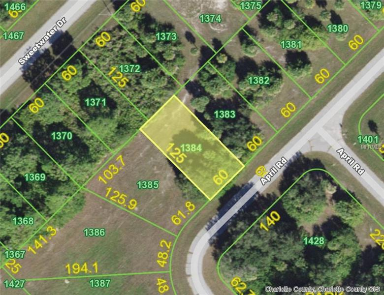 134 APRIL (LOT 1384), ROTONDA WEST, FL, 33947