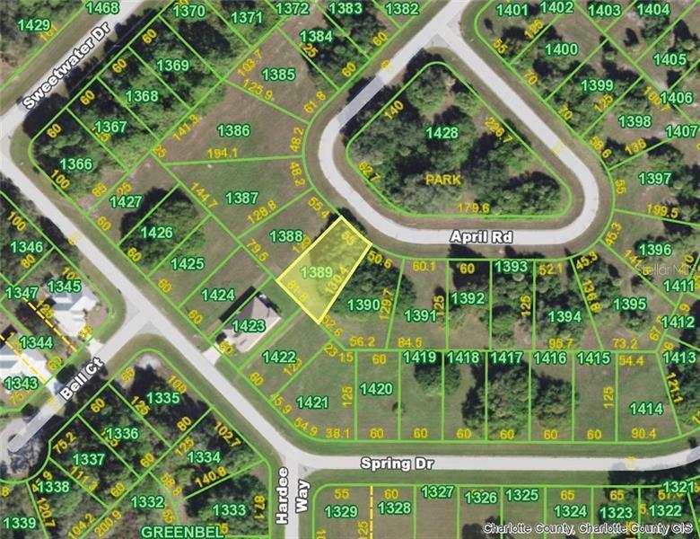124 APRIL (LOT 1389), ROTONDA WEST, FL, 33947